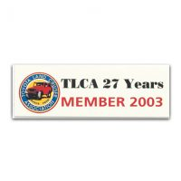 TLCA 2003 Dash Plaque