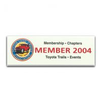 TLCA 2004 Dash Plaque