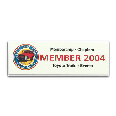 TLCA 2004 Dash Plaque