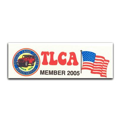 TLCA 2005 Dash Plaque