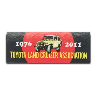 2011 TLCA Dash Plaque