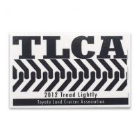TLCA 2012 Dash Plaque