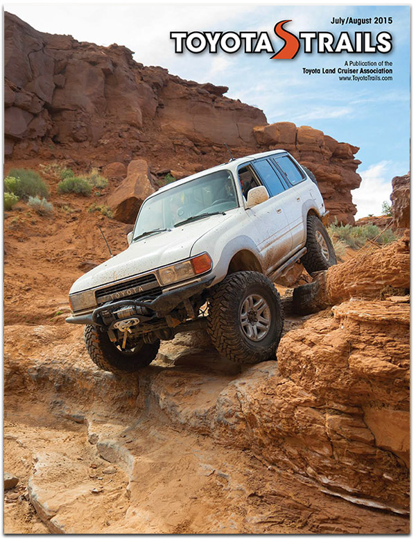 Toyota Trails  July/August 2015