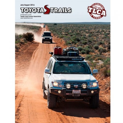 Toyota Trails Back Issues