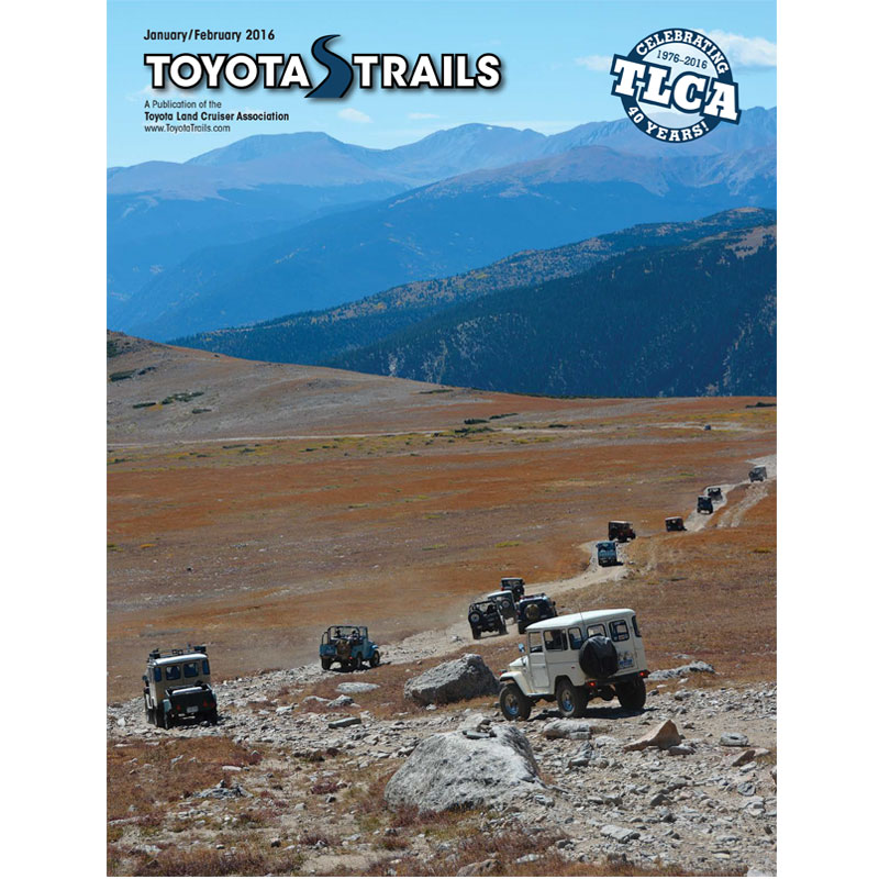Toyota Trails Jan/Feb 2016 Issue
