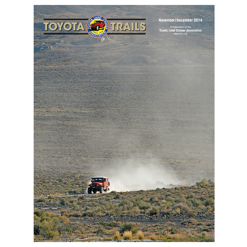 Toyota Trails Nov/Dec 2014
