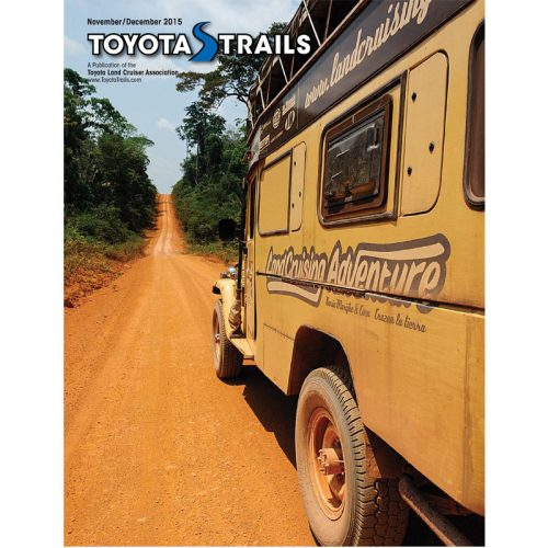 Toyota Trails Nov/Dec 2015