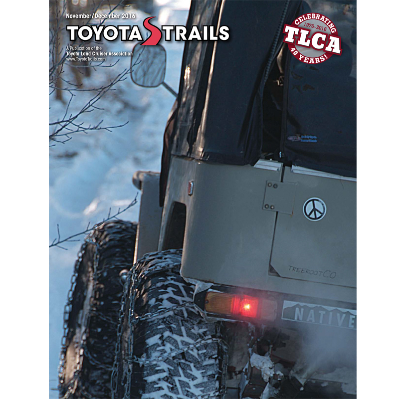 Toyota Trails Nov/Dec 2016