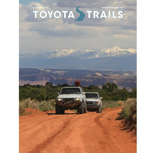 Toyota Trails Nov/Dec 2019