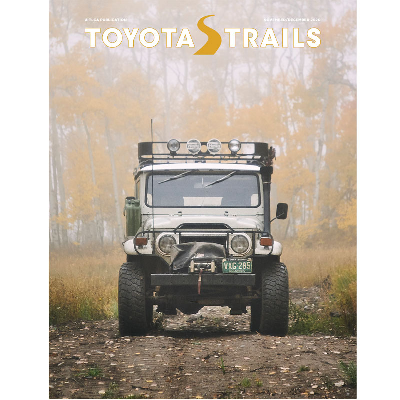 Toyota Trails Nov/Dec 2020