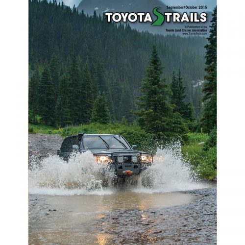 Toyota Trails September/October 2015