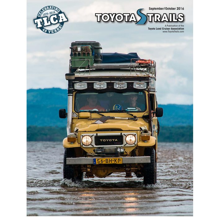 Toyota Trails Sep/Oct 2016