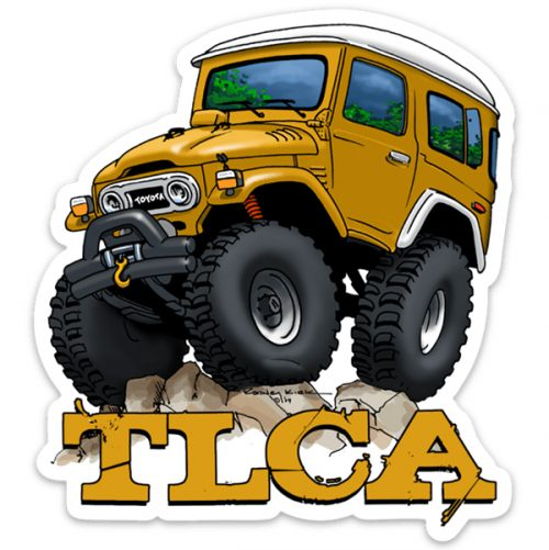 "TLCA ""The Beast"" Limited Edition Sticker"