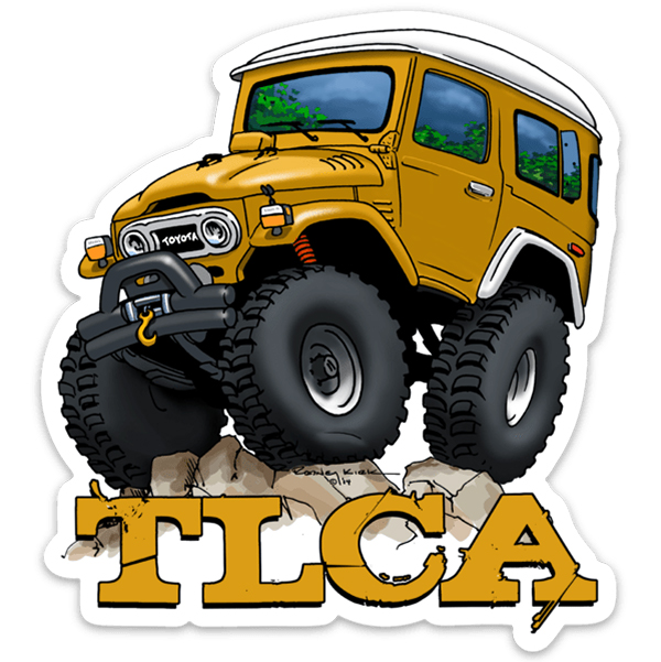 """TLCA """"The Beast"""" Limited Edition Sticker"""