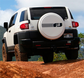 The FJ Cruiser left its footprint in Hawaii too, with a loyal community of owners who wheeled in some spectacular places. Photo by Todd Yee, Servco Pacific (Toyota's distributor in Hawaii)