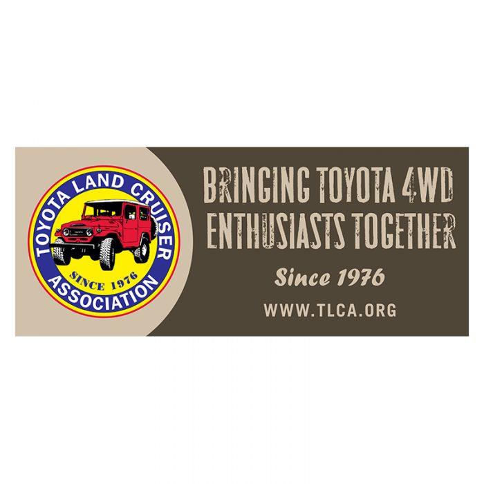 TLCA Vinyl Banner